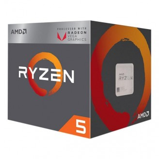 AMD Ryzen 5 2400G 4-Core 3.6Ghz Box