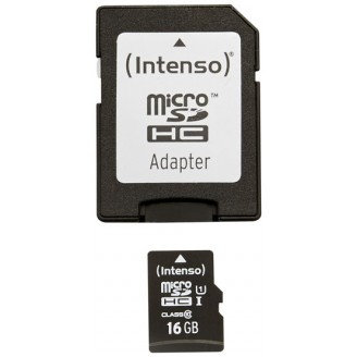 Intenso Micro SDHC 16GB CL10 UHS-I