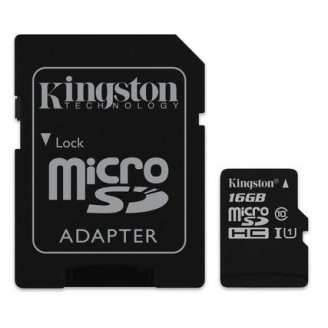 Kingston Micro SD 16GB CL10