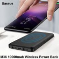Baseus M36 Power bank 10000mAh with Qi inductive charger