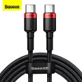 Кабел Baseus Cable Cafule PD USB-C to USB-C 2.0 QC 3.0 100W 2m